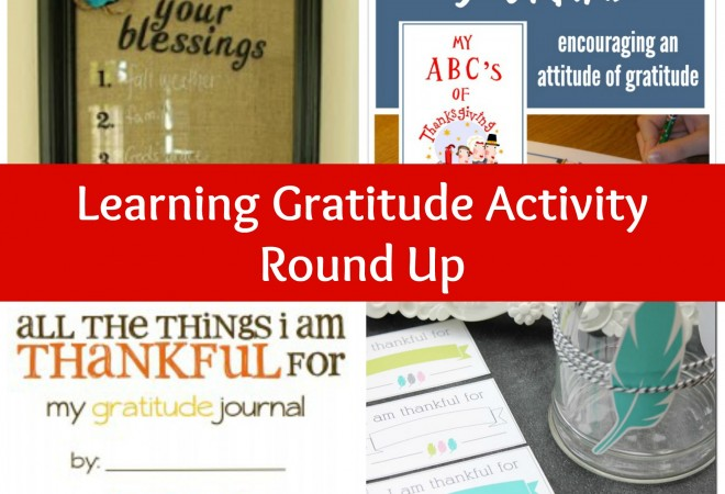 Learning Gratitude Activities for Kids and Free Printables
