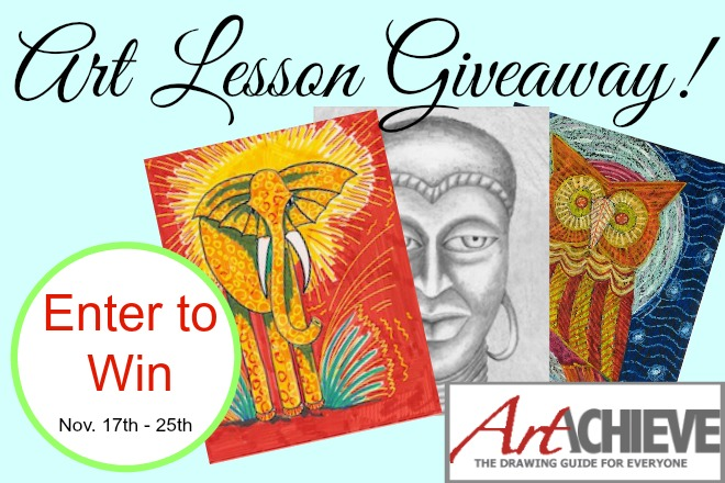 art lessons online giveaway