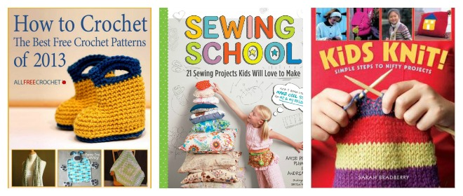 books on how to sew fo rkids