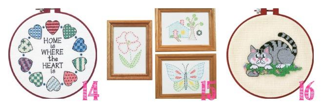 cross stitch, needlepoint, embroidery