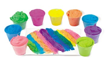 unique art supplies for kids, foam paint