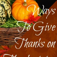 Giving Thanks on Thanksgiving at Mom's Library #116