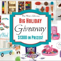 Mom's Library 2nd Annual Big Holiday Giveaway