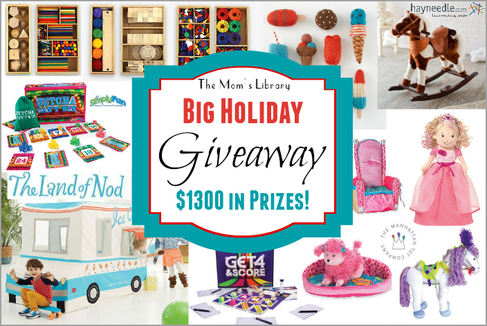 holiday giveaway 2014 moms library