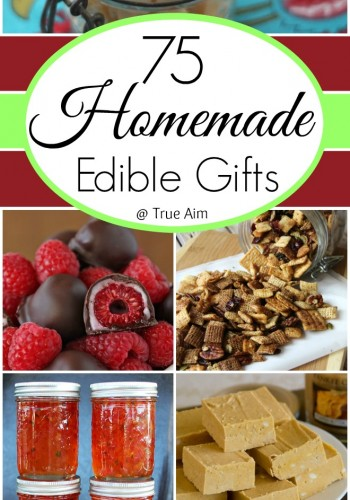 75 Homemade Edible Gift Ideas