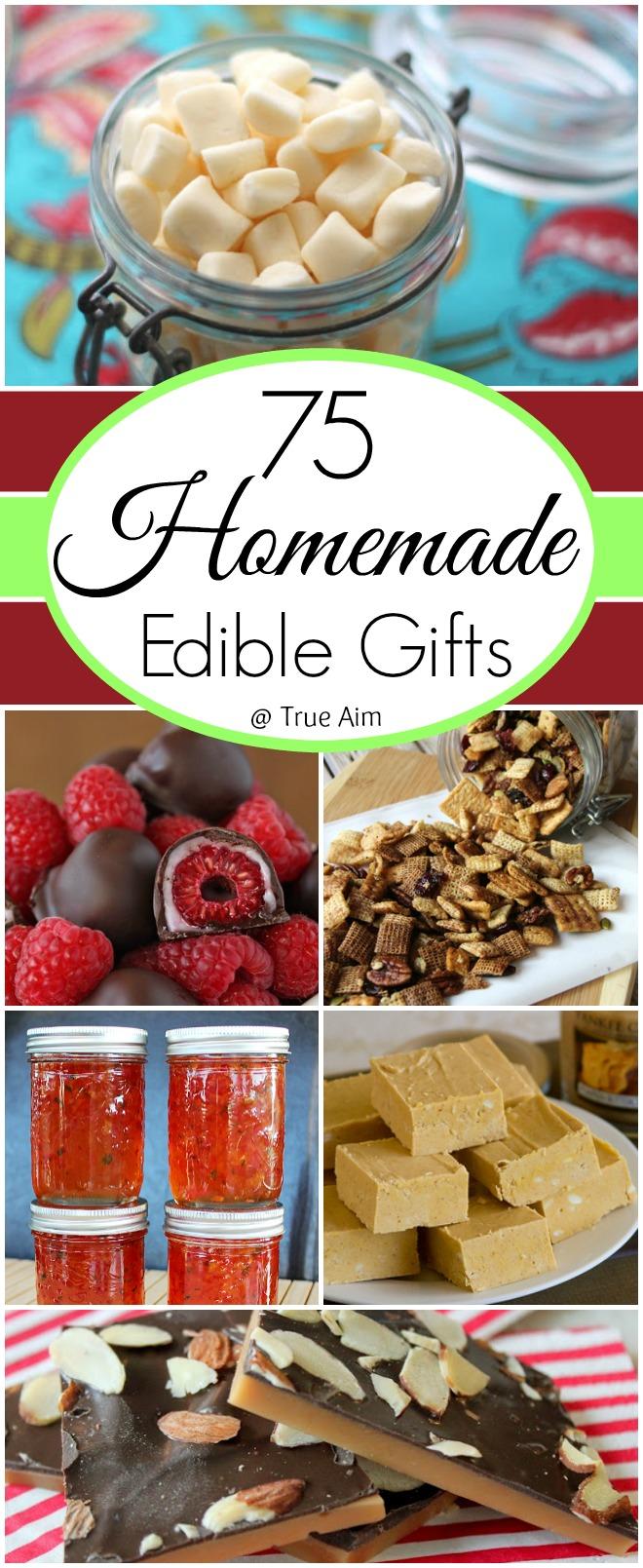 75 homemade edible gift ideas true aim for Edible christmas gift ideas to make
