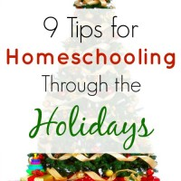 Homeschooling Through the Holidays and Mom's Library #117