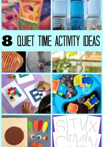 8 Quiet Time Activities and Mom's Library #114