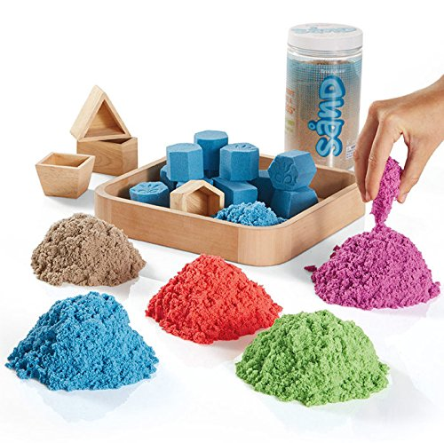 unique art supplies for kids, kenetic play sand