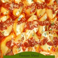 Frozen Dinners to Share: Easy Stuffed Pasta Shells