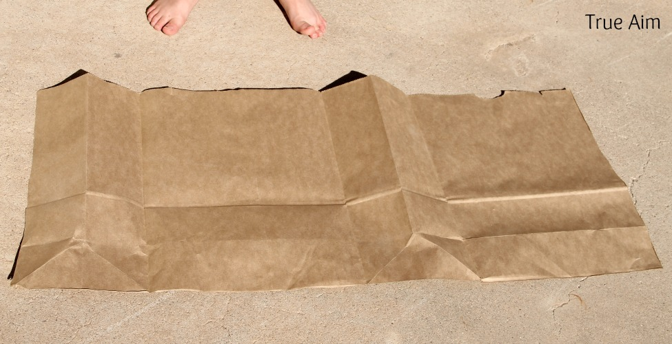 Brown Paper Bag Christmas Wrapping Paper