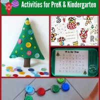 Preschool & Kindergarten Christmas Learning Activities and Mom's Library #118