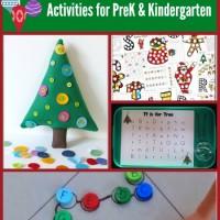 Preschool & Kindergarten Christmas Learning Activities and Mom's Library #118