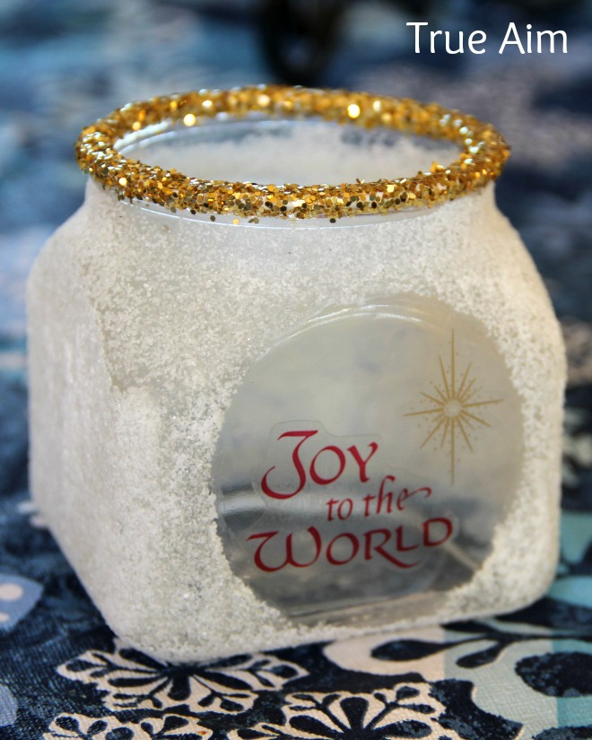 DIY Joy to the World Candle for Kids