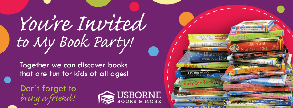 Usborne giveaway and party