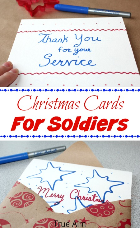 Christmas Cookie Cutter Cards for Soldiers | True Aim