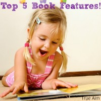 Top 5 Favorite Book Features for Kids
