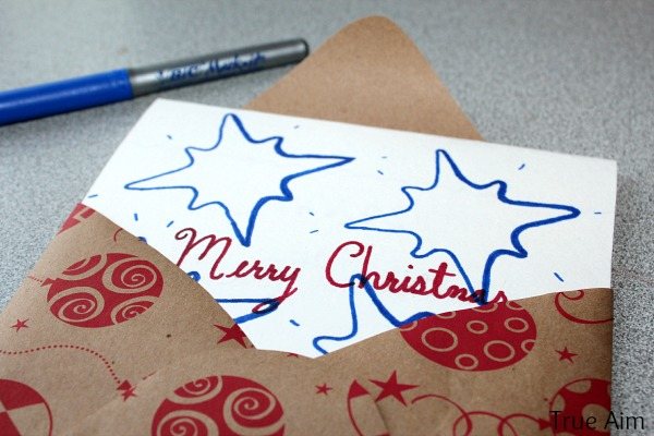 christmas cookie cutter cards for soldiers true aim