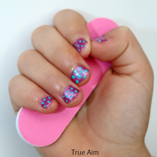 easy kids nail art