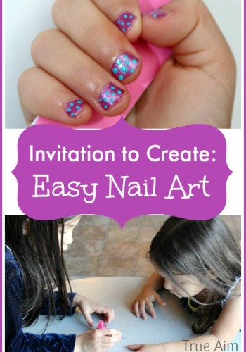 easy nail art for kids
