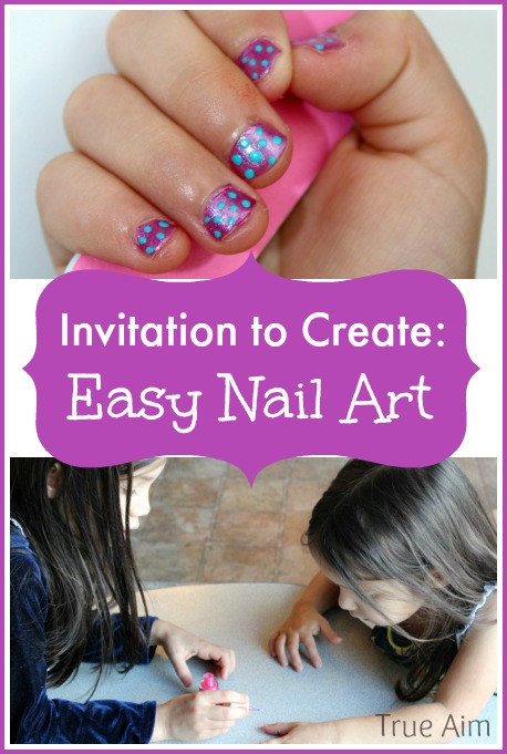 Invitation to create kid friendly nail art true aim easy nail art for kids prinsesfo Gallery