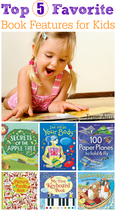 5 Favorite Book Features for Kids! - Awesome list of things to look for!