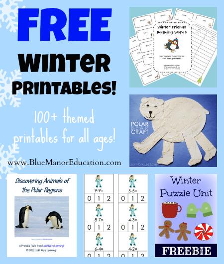 free-homeschool-printables-winter
