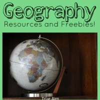 Geography Resources Giveaway and Freebie!