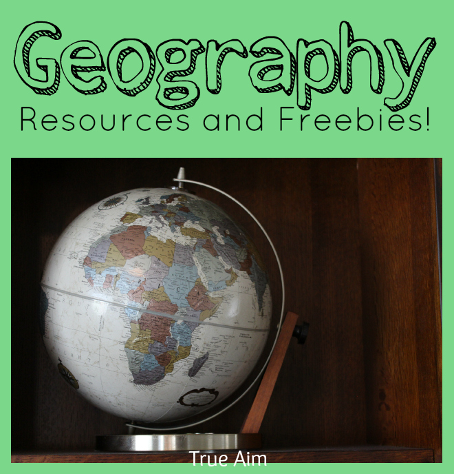 geography resources and freebies