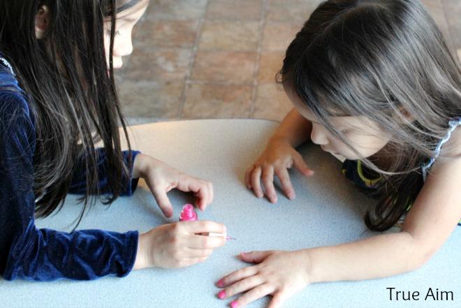 kid friendly nail art