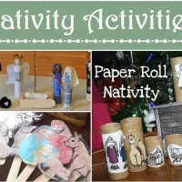 Nativity Activities and Crafts: Mom's Library #119