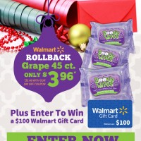 $100 Walmart Gift Card Instagram Giveaway!