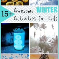 15+ Awesome Winter Activities for Kids and Mom's Library #120