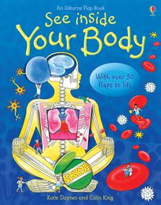 anatomy lift the flap book for kids