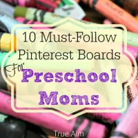 10 Must-Follow Pinterest Boards for Preschool Moms
