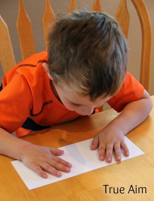 Cardstock Pop-Up Card for Kids