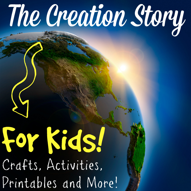 The creation story for kids