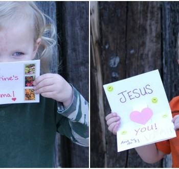 Easy DIY Valentine's Day Pop-Up Card for Kids