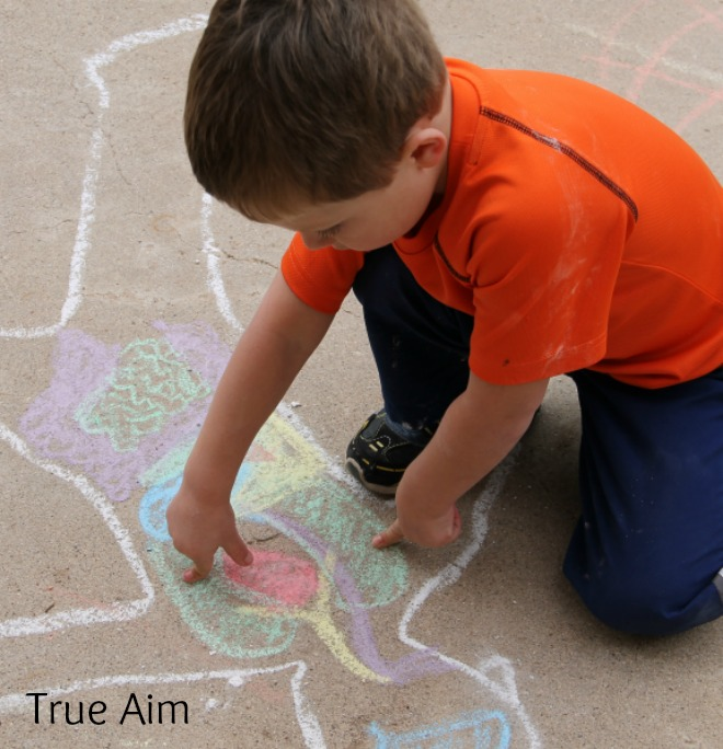 Easy Kindergarten Anatomy Activity