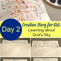 Creation Story for Kids: Day 2