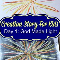 The Creation Story for Kids: Day 1