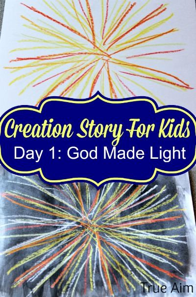 creation craft day 1 god made light