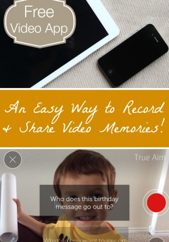 Free Video App: Record Video Memories the Easy Way!