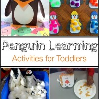 Penguin Learning Activities for Toddlers