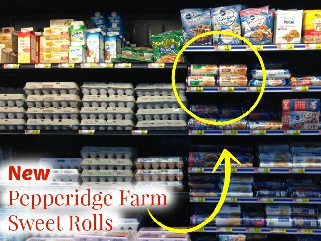 pepperidge farm sweet rolls