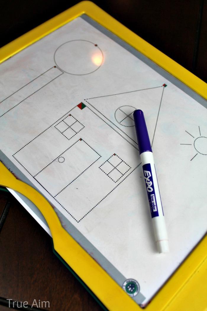 simple predrawing worksheets