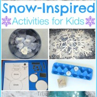 Snow-Inspired Activities for Kids and Mom's Library!