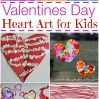 10 Valentine's Day Heart Art Projects for Kids