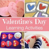 Valentine Themed Learning Activities and Mom's Library #124