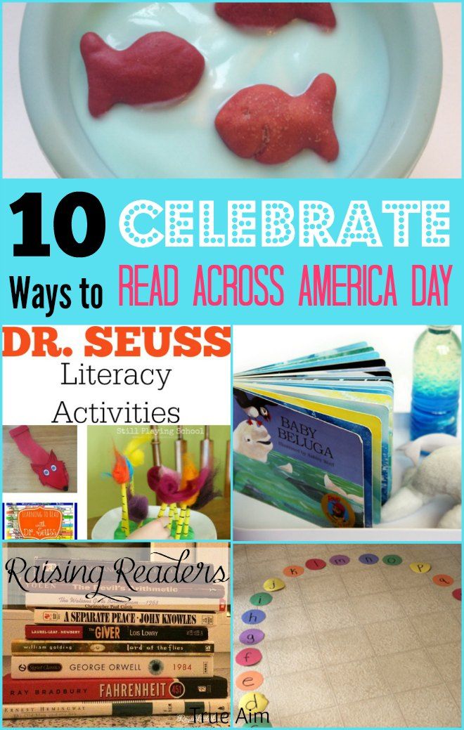 10 Activities to celebrate read across america day